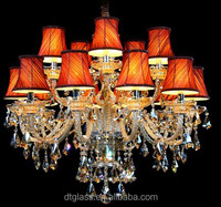 Cheap Crystal Chandelier with lamp shade