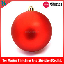 Wholesale excellent quality salable christmas plastic ball