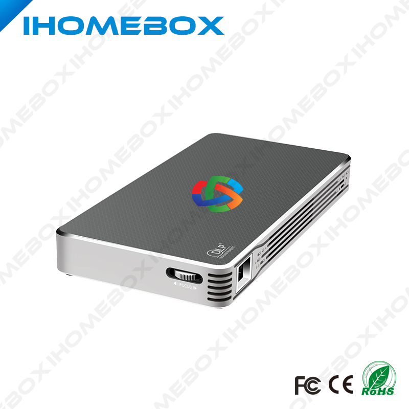 Portable Smart DLP Android 4.4 OS Quad Core CPU 2.4G/5G Dual WIFI Bluetooth 4.0 Mini Pocket Full HD 3D LED Projector