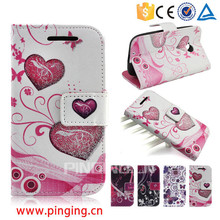 For Moto G4/G4 Plus Case Flip Leather Cover with Card Slots Assorted Fashion Printed Designs