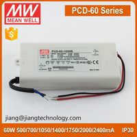 Meanwell Constant Current Dimmable LED Driver 2000mA 60W PCD-60-2000B