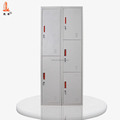 South Africa Light Gray Metal Office Safe Locker Employee Cabinet