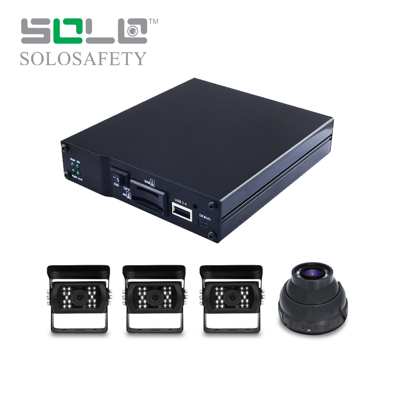 Mini AHD resolution gprs mobile dvr 2ch