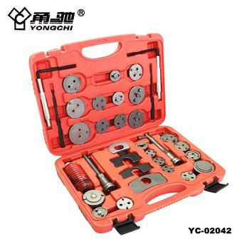 China Hand Tool Brake Caliper Piston Rewind Wind Back Tool Kit 35 Piece Car Service Tool Set