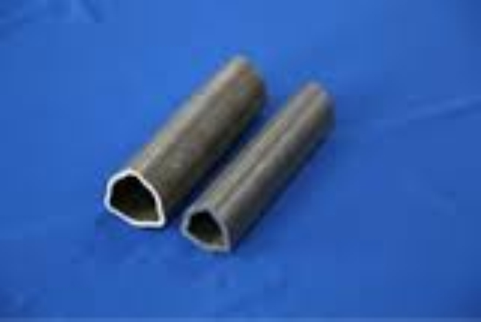 Custom Size alloy triangle seamless steel pipe and tube shaft apply with cheapest price