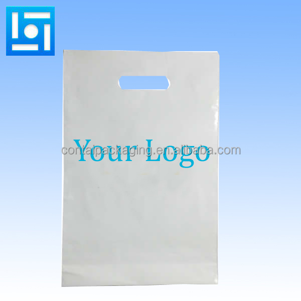 Customize Logo Plastic Bags Print Brand Mark Label Black Fashion Jewelry Makeup Shoe Underwear Hat Clothes packaging Gift Pouch