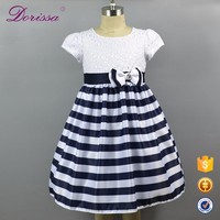 2017 summer long frock design baby girls dress party wear dresses birthday party dress