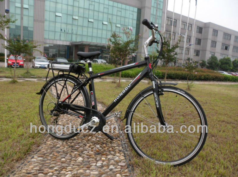 new design 700c lithium battery power electric bike strong electric bike 2013