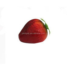 60mm Polystyrene foam artificial strawberry fake home festival decoration fruit and children DIY same big as real one