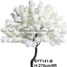 Shuyi wholesale lifelike wedding decoration trees artificial cherry blossom