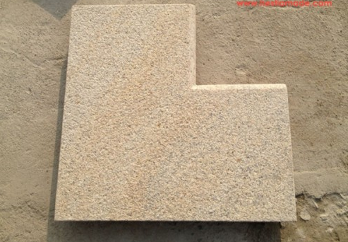 China G682 flamed granite 300x300 floor tiles for paving