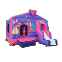 CE/UL EN14960 SGS inflatable slide and castle, funcity park for kids,inflatable amusement park
