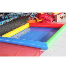 Large Size Customized Outdoor Portable Plastic Children Kids Inflatable Swimming Sand Pool