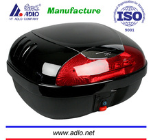 red,sliver ,black PP material 35L motorcycle top box ,motorcycle delivery box use for cargo carrier