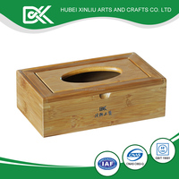 Natural color alibaba wholesale paper holder wooden tissue box