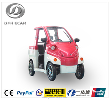 2 seats battery operated electric vehicle
