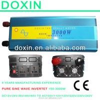factory price doxin 3kw pure sine wave power dc to ac inverter,single phase abb 3kw inverter for home use