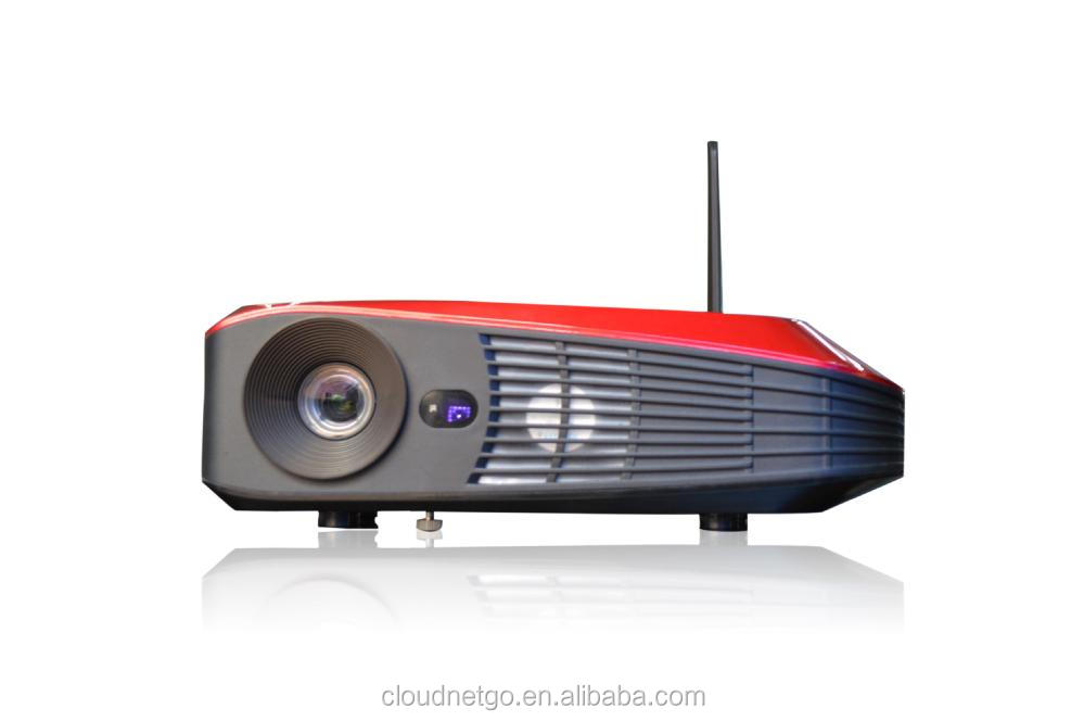 New Arrival Cloudnetgo RK3288 Android4.4 4K Projector /3D Blu Ray Projector / wifi Projector