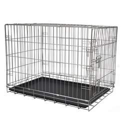 Cheap Large Waterproof Heavy Duty Wire Dog Kennels Cages Large Outdoor