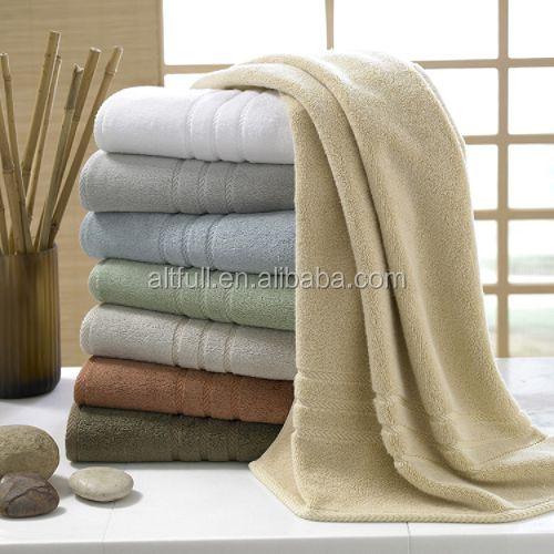 China Factory ultra luxury customized color 100% Cotton Bath Towel ,hotel towel sets