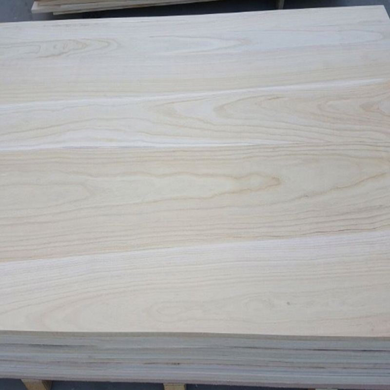 China Paulownia Sawn Timber Edge Glued Jointed Wood Board