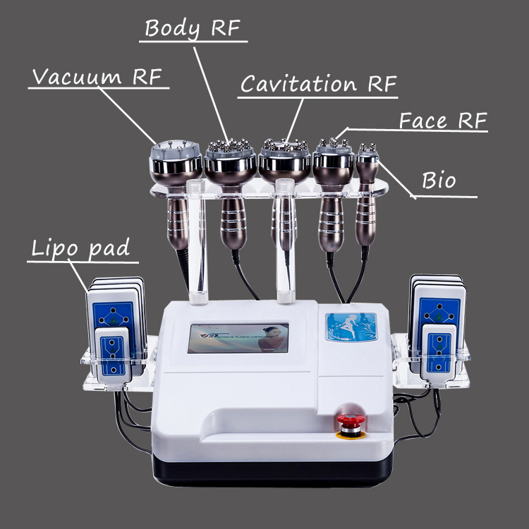 Hot Sell Portable Vaccum Cavitation Machine for Weight Loss Slimming Equipment Beauty