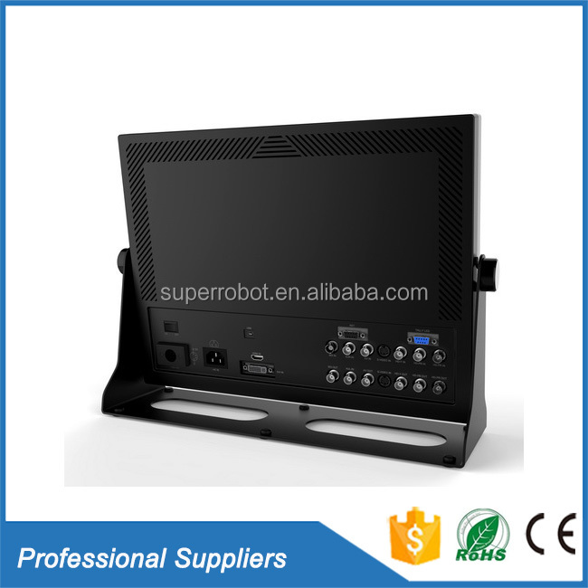 Square lcd monitor bulk dc powered bnc customized 12v input 15 inch 14 inch 12.1 inch 19 inch lcd monitor