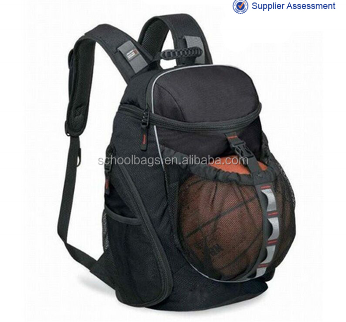 2016 China supplier cheap custom made basketball backpack