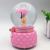 Custom high quality resin sweet snow globe souvenir birthday's gift for sale