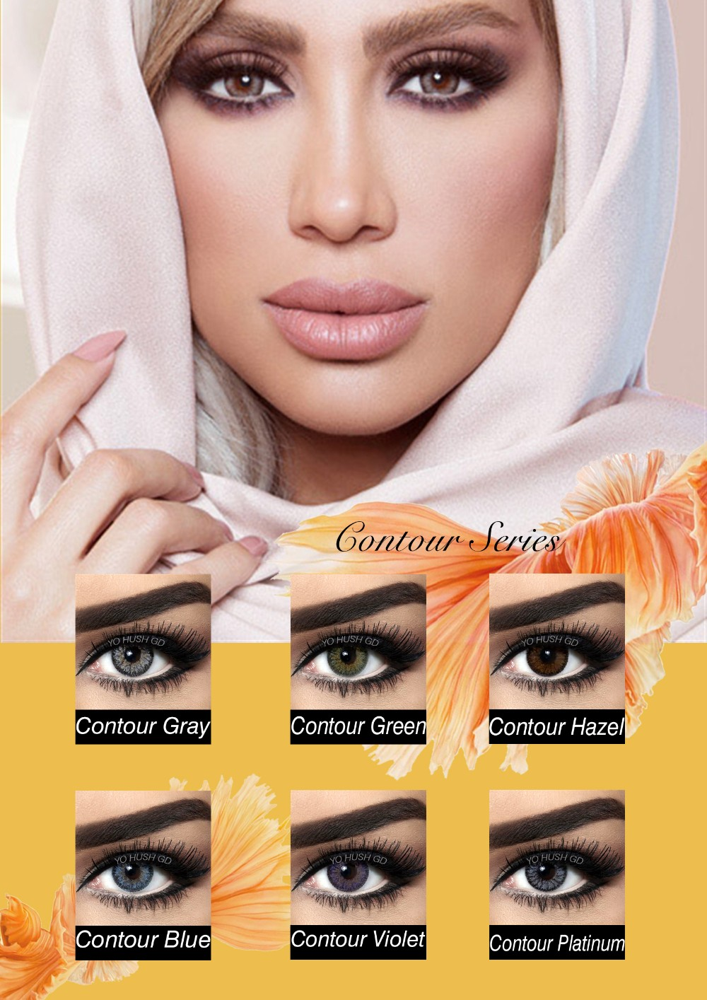 Bella colors lens best selling comfort cosmetic popular various design latest stylecrazy contact lens