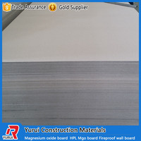 High strength fiberglass mesh magnesium oxide wall board/glass magnesium panel