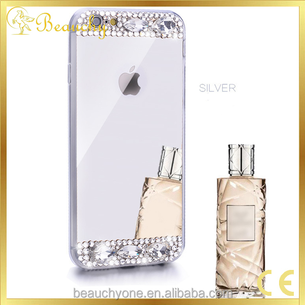 2017 electronic products bulk buy from china Luxury Diamond Bling Crystal silicon phone case for iphone 5/6/7