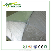 Beige - Green double cloth custom camping tent factory