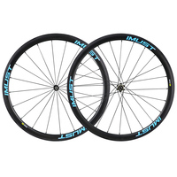 Full carbon bicycle wheels 700C racing wheel 38mm clincher