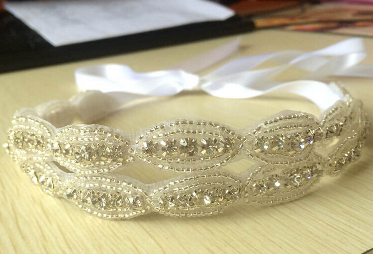 double layers rhinestone bridal <strong>hair</strong> <strong>accessories</strong>