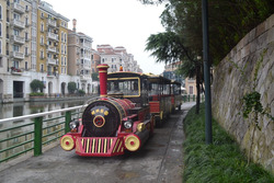 Attractive outdoor equipment tourist train