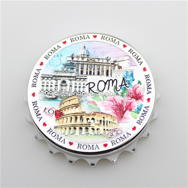 2017 Custom Roma Promotional Metal Bottle Opener
