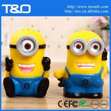 2600mAh Minion high battery backup mobile for iphone