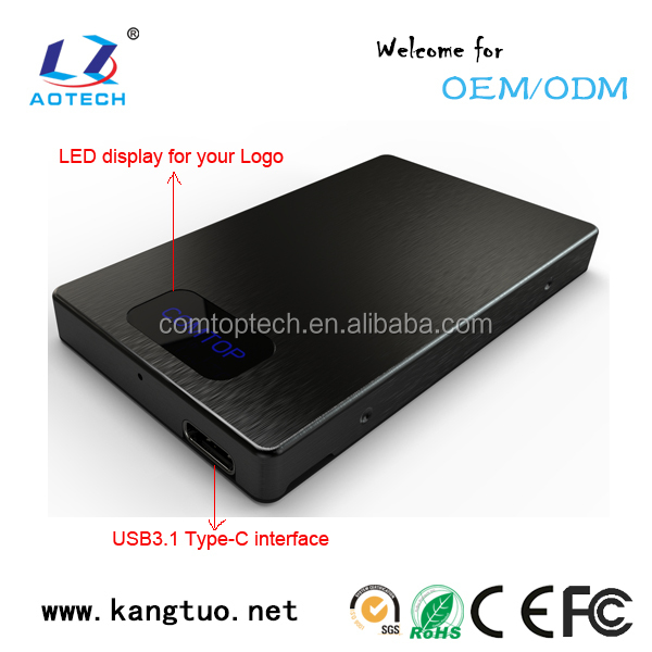 External Hdd Enclosure USB 2.0/3.0/3.1 SATA HDD/HD Enclosure/Case