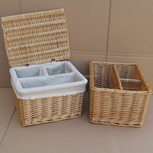 Household storage device folding net laundry rattan basket
