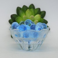 Hot!! blue crystal mud soil water beads for home deoration