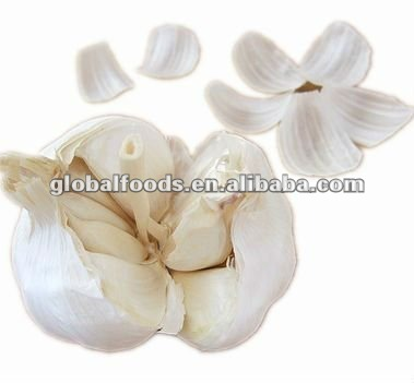 Fresh Garlic Whole, diameter4-5-6cm, fresh vegetables, fresh ginger