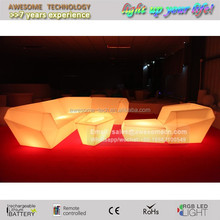 led illuminated event gala lounge furniture
