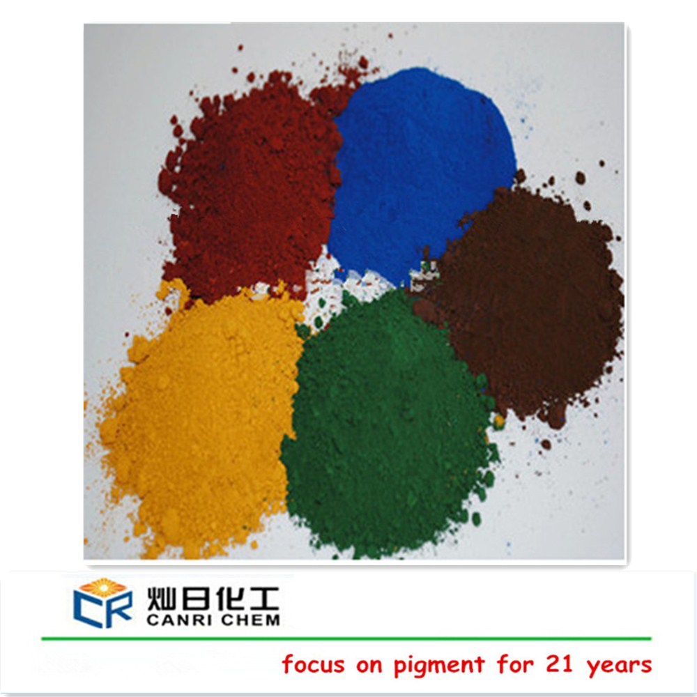 asphalt coating pigment powder iron hydroxide/iron oxide pigment