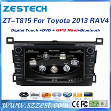 ZESTECH Exporter double din car spareparts for toyota RAV4 2013 car dvd player with bluetooth PIP USB fm radio EXW PRICE