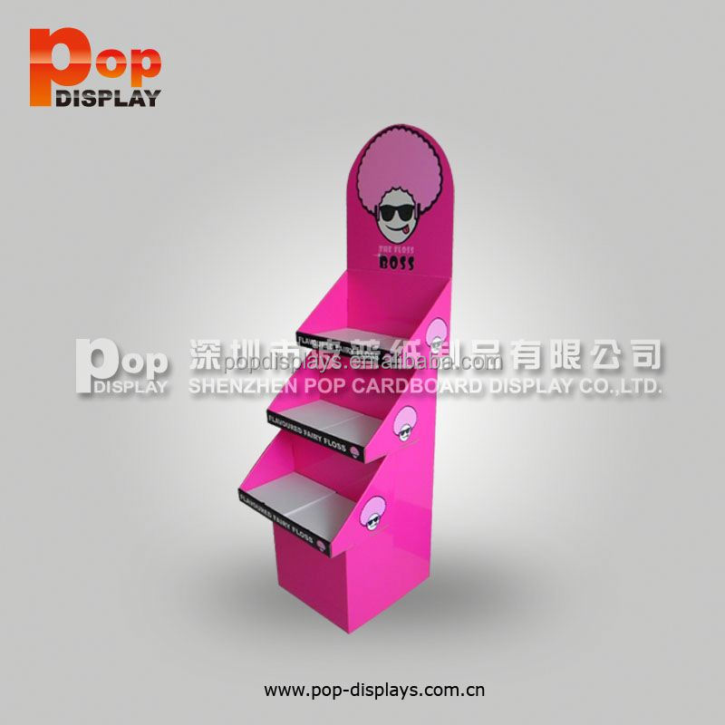 customized flyers post cards counter paper display stand