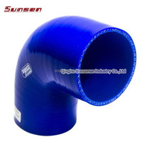 90 degree elbow silicone rubber hose for auto refirtted