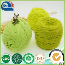 Polyester cloth yarn for hand knitting