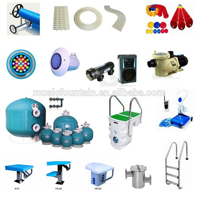 Factory Supply Full Set Swimming Pool Equipment Swim Pool Accessories For Sale Buy Swimming