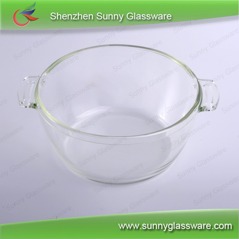 Borosilicate glass bowls microwave oven glass bowls with lids